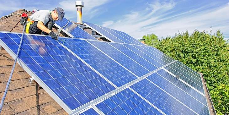 Servicios de instalación de sistemas solares Valencia - Empresa profesional